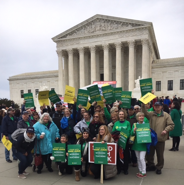 AFP-VA activists at the United States Supreme Court