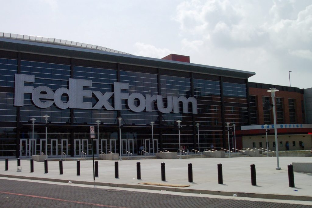 FedExForum Memphis Tennessee