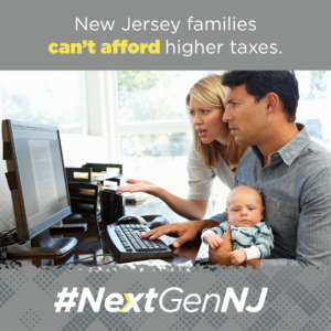 New Jersey families can't afford higher taxes