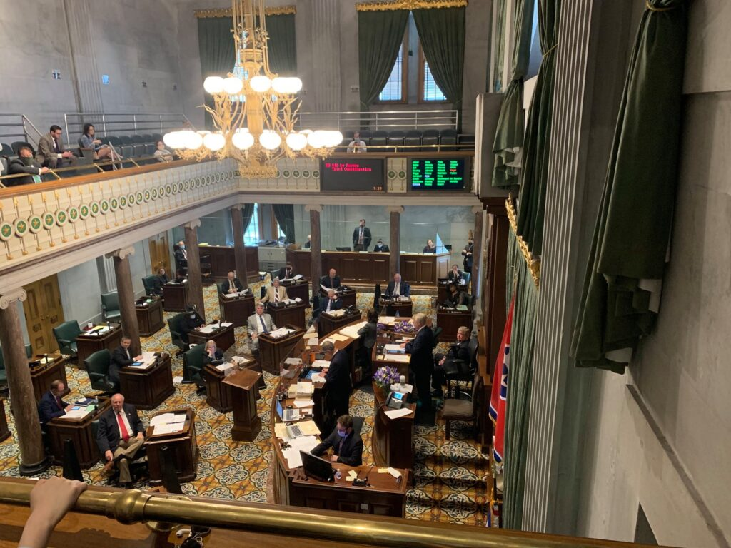 AFP's Tori Venable and James Amundson were in the legislature to save CON reform at the 11th hour
